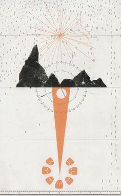 Navigate your way around David Lemm's fascinating screenprints