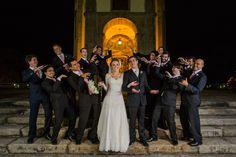 Casamento Nathalia e José Neto Foto tradicional com os padrinhos