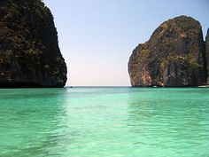 The Beach (film) Whist traveling Thailand we got to visit this island, one word tranquil.