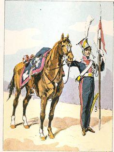 French; Imperial Guard, 1st Regiment of Polish Chevau- Légers Lanciers,Lancer, Grande Tenue, 1809-14