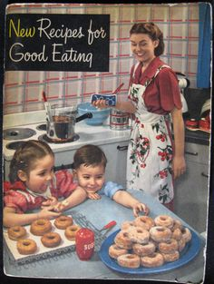 16 best cookbooks and recipe cards from readers' vintage collections - Retro Renovation Best Cookbooks, Vintage Cookbooks, Vintage Cooking, Vintage Kitchen, Vintage Food, Vintage Wife, Vintage Ads, Old Recipes, Cookbook Recipes