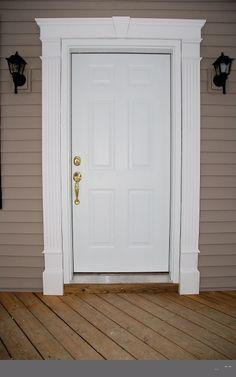 Exterior Front Door Trim Molding | Exterior Doors