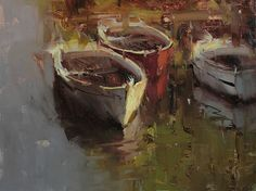 The Lazy Afternoon by Tibor Nagy Oil ~ 12 x 16