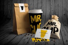 Mr. Cup. Branding & Packaging on Packaging of the World - Creative Package Design Gallery