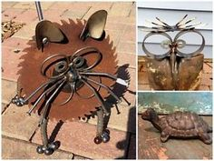 Are You on Team Rust? I hope so because it's inevitable in a garden! Rusty garden art began—or so I imagine it—when people needed a place to dispose of old metal items. What happened next was, the garden...