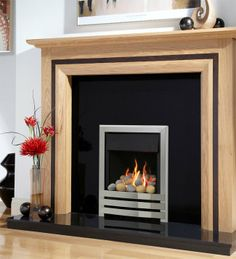 Linear Plus High Efficiency Gas Fire, From Flavel