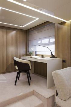 Internal view Pershing Yacht - Pershing 108 #yacht #luxury #ferretti #pershing