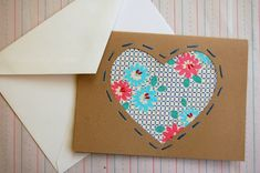 Tutorial: Fabric-Embellished Notecards by Jenny Ryan on Craftzine