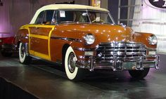 1949 Chrysler Town & Country convertible Photo by: Greg Migliore
