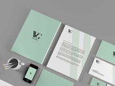 Vitac Group by Adrian Rodriguez, via Behance