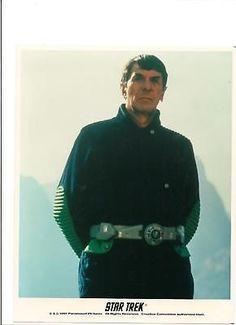 Star Trek Mr. Spock Leonard Nimoy Portrait Movie Outdoors 8x10 Licensed Photo