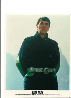 Star Trek Mr. Spock Leonard Nimoy Portrait Movie Outdoors 8x10 Licensed Photo