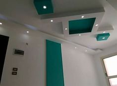 Pvc Ceiling Design, Bedroom False Ceiling Design, Pop Design, Drywall, Interior Decorating, Villa, Doors, Lighting, Home