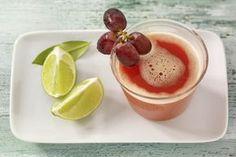 Gestärkt in den Herbst: Sweet Devil – leckerer Saft mit Trauben und Paprika. #experiencefresh