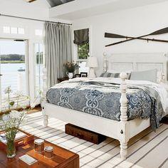 Summertime Blues - 20 Genius Nautical Decorating Ideas - Coastal Living