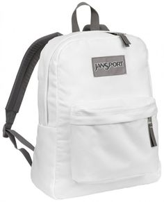 Shop for JanSport Superbreak Backpack in White at Journeys Shoes ...