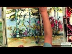 The Caran d'Ache Neocolor II Artists' Water Soluble Crayon Set with Artist Karlyn Holman - YouTube