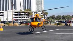 Bell 407GX, Bell 429, AS-350 B3 takeoff at Heli Expo 2013