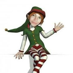 My daughter Leona...my real live elf that helps me in life <3 2013