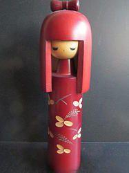 Flot Sosaku Okappa pige  #kokeshi  #dukker #japan #japanske_dukker Til salg / for sale at   mariannepetersen.wix.com/kokeshi