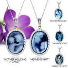 Silver_Frame_Blue_Agate_Cameo_Pendant_on_18__chain__mother_child_or_angel