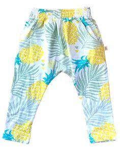 Baggy Pants, Harem Pants, Kind Mode, Trunks, Swimming, Swimwear, Fashion, Pineapple, Comfy Pants