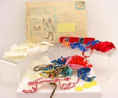 Vintage 1960s pretty trims for your #dolls #clothes vintage #sewing item,  View more on the LINK: 	http://www.zeppy.io/product/gb/2/190878486798/