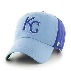 Kansas City Royals Flagstaff Adjustable Clean Up Hat by  47 Brand Kansas  City Royals Hat 72cc409f0ac0