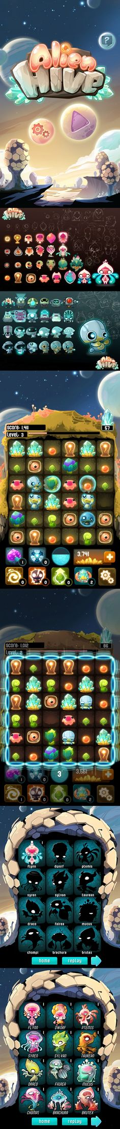 #GAMEDESIGN http://www.appxplore.com/index.php/games/alien-hive