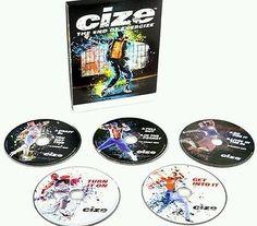 CIZE Workout DVD CIZE Base Kit 6DVDs Exercise Fitness Videos