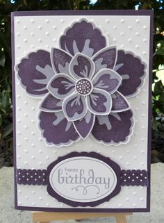 Build a Blossom. Stampin Up!