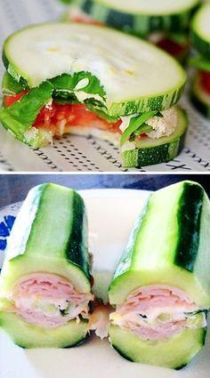 Jak rychle zhubnout? Zkuste okurkové sendviče - DIETA.CZ