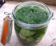 Fermenting Paleo Dill Pickle Recipe with Video! Canning Recipes, Paleo Recipes, Real Food Recipes, Paleo Sauces, Fermentation Recipes, Yummy Recipes, Recipies, Probiotic Foods, Fermented Foods