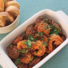 Make some Shrimp and Chorizo Tapas to get your party started off right
