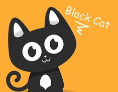 """Check out new work on my @Behance portfolio: """"Black Cat"""" http://be.net/gallery/60827945/Black-Cat"""