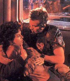 Ripley, Newt and Hicks Aliens 1986, Aliens Movie, Fantasy Movies, Sci Fi Fantasy, Fiction Movies, Science Fiction, Saga, Sigourney Weaver, Sci Fi Horror