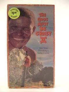 The Gods Must Be Crazy 2 VHS 1990 Comedy PG Sequel Ni Xau Bushman Botswana Video Movie Film NTSC #35E by AdriennesAtticStore on Etsy