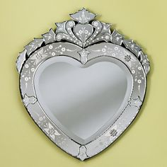 Venetian Gems Corazon Mirror & Reviews | Wayfair