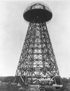 Global Energy Transmission: the Project Aiming to Make Tesla's Dream Come True - Inmesol News Nikola Tesla, Tesla S, Wardenclyffe Tower, Tesla Coil, Ride The Lightning, Tower Design, Transmission, E Mc2, Personalised Photo Mugs