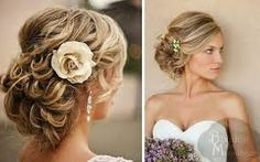 Resultado de imagem para cabelos de noiva praia