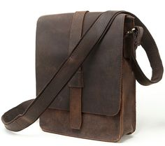 Men's Real Leather Cowhide Bag Genuine Leather Shoulder Bag Briefcase Messenger  B208