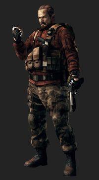 Barry Burton in Resident Evil Revelations 2