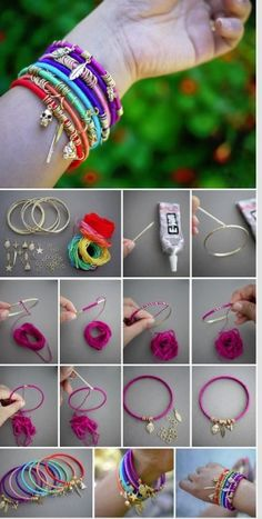 7 DIY Schmuck Armbänder a 7 DIY Schmuck Armbänder a The post 7 DIY Schmuck Armbänder a appeared first on Schmuck ideen. bijoux 7 DIY Schmuck Armbänder a - Schmuck ideen Charm Armband, Armband Diy, Diy Schmuck, Schmuck Design, Bracelet Crafts, Jewelry Crafts, Jewelry Ideas, Handmade Bracelets, Beaded Bracelets