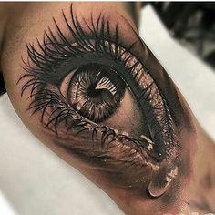 #tattooartist @inkaholik_tattoos #tattoo #tattoos #nofilter #tattoogirl #tattooshop #tattooed #tattooer #tattooart #tattooist #tattooing #tattooink #tattoolove #ink #inked #inkedup #inkedgirl #inkedgirls #realisticart #inklife #realismtattoo #eyes #eye #blackandgrey #blackandgreytattoo #inkstagram #inklife #soreal #sleeve #sleevetattoo #tears