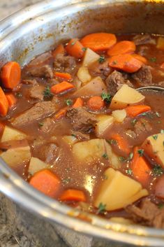 Thisweekend was drizzly, and the wind was cold. I didn't mind it because I had no place to go, and because I made this stew. It was warm an...