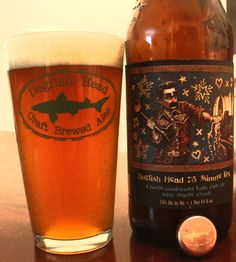 Dogfish Head '75 Minute IPA' Beer Review
