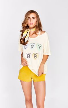 Wildfox Couture Cry BB Alumni Tee