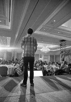 Keynote speech with Ben of Pinterest.