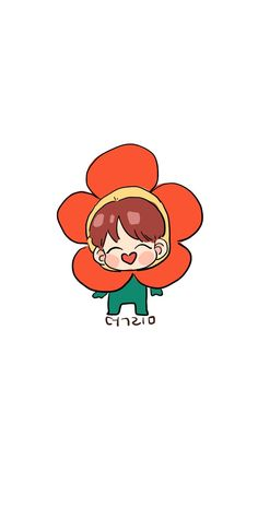 Hoseok Funny Drawings, Bts Drawings, Kawaii Drawings, Bts Chibi, Bts And Exo, Bts J Hope, Bts Fans, Kpop Fanart, Bts Bangtan Boy