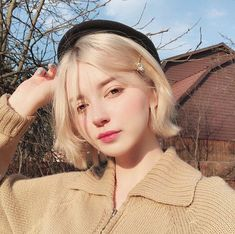 different elf types of hairstyles and wave types, share different design styles with you - Page 52 of 62 - BEAUTIFUL LIFE Ullzang Boys, Ullzang Girls, Guys And Girls, Cute Girls, Pretty Girls, Girls Hats, Girl Short Hair, Short Girls, Hairstyle Look